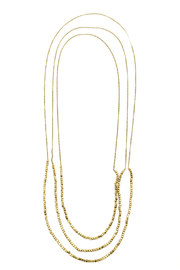 Worthwhile Wear Gold Layering Necklace - Product Mini Image