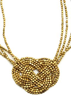 Worthwhile Wear Knotted Necklace - Alternate List Image
