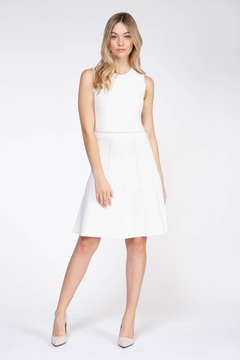 Dex Woven A line Slvls Dress - Product List Image