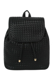 Handbag Factory Woven Backpack - Product Mini Image