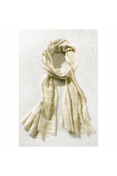 Giftcraft Inc.  Woven Beige Scarf - Alternate List Image