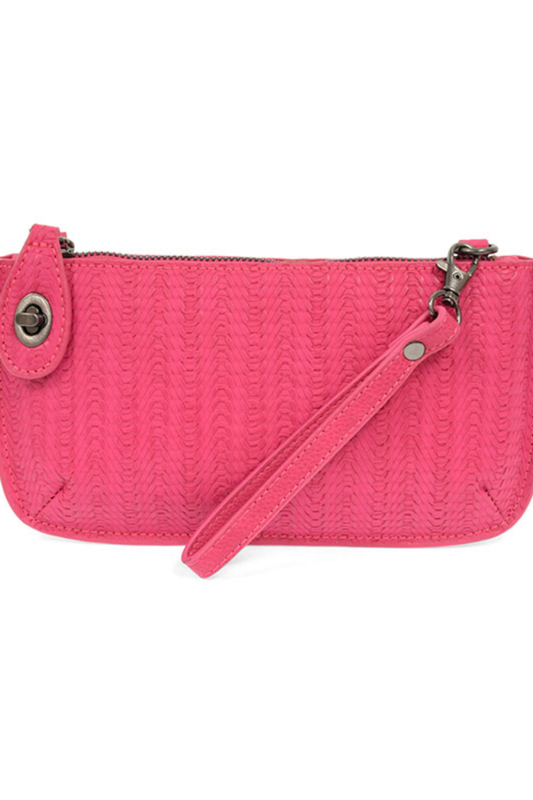 Joy Susan  Woven Crossbody Wristlet Clutch - Front Cropped Image
