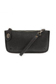 Joy Accessories Woven Crossbody Wristlet Clutch - Product Mini Image