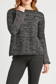 Indigenous Woven Cuff Pullover - Alternate List Image