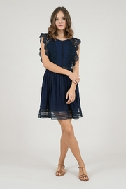 Molly Bracken Woven Embroidered Dress - Product Mini Image