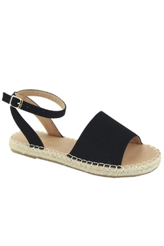 Bella Marie Woven Espadrille Flats - Product List Image
