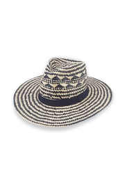 Mud Pie Woven Fedora - Product Mini Image
