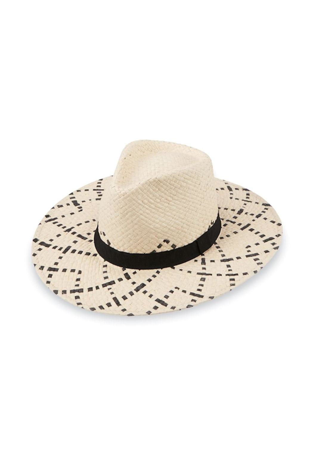 Mud Pie Woven Fedora - Front Cropped Image
