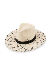 Mud Pie Woven Fedora - Front cropped