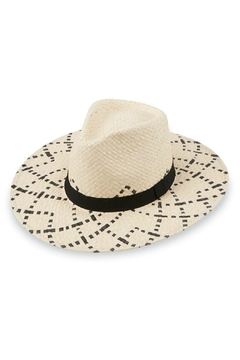 Mud Pie Woven Fedora - Product List Image