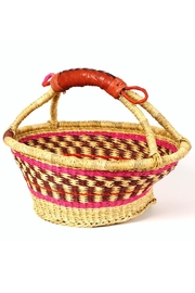African Market Baskets Woven Fruit Basket - Product Mini Image