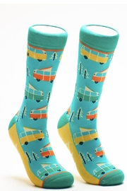 Woven Fun Themed Socks - Product Mini Image