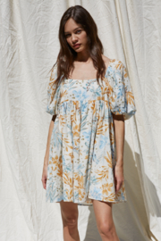 By Together Woven Gauze Printed Dress - Product Mini Image