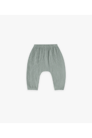 Quincy Mae Woven Harem Pants - Front cropped