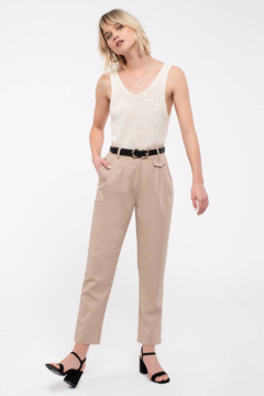 Mine and E&M Woven High Rise Pants - Product List Image