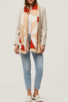 Soia & Kyo Woven Jacquard Scarf - Product List Image