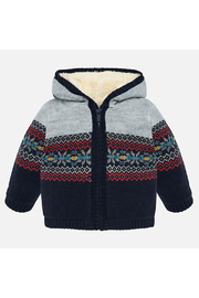 Mayoral Woven Knit Jacket - Product Mini Image