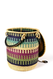 African Market Baskets Woven Laundry Basket - Product Mini Image
