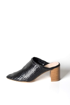 993 Woven-Leather High-Heel Mule - Product List Image