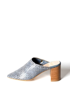 993 Woven-Leather High-Heel Mules - Product List Image