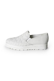 Lady Doc Woven Leather Loafer - Product Mini Image