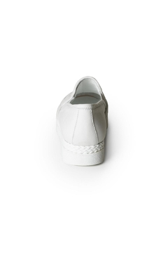 Lady Doc Woven Leather Loafer - Alternate List Image