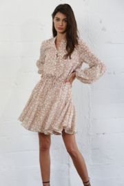 By Together  Woven Long Sleeve Dress - Product Mini Image