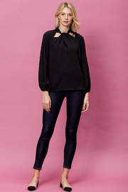 Mittoshop Woven Long Sleeve Top - Front full body
