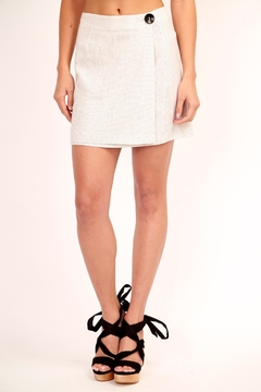 Olivaceous Woven Mini Skirt - Product List Image