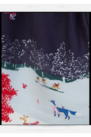 Joules Woven Mix Border Dress - Side cropped