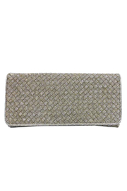 Sondra Roberts Woven Nizza Fabric Flap Clutch - Product Mini Image