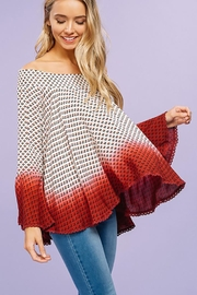 Listicle Woven Off Shoulder - Product Mini Image
