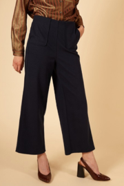 FRNCH Woven Peg Pants - Front full body