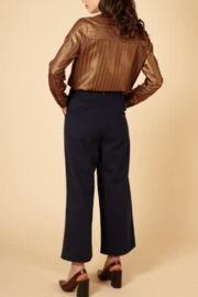 FRNCH Woven Peg Pants - Back cropped