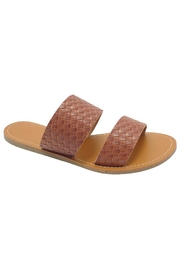 Wild Diva Woven Slide - Front cropped