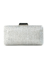 SR by Sondra Roberts Woven Sliver  Clutch - Front cropped