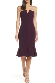 Adelyn Rae Alexis Woven Strapless Dress - Front cropped