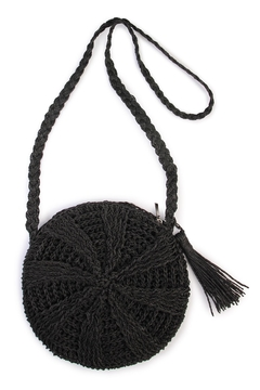 Riah Fashion Woven-Straw Body Bag - Product List Image
