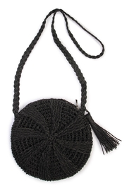 Riah Fashion Woven-Straw Body Bag - Product Mini Image