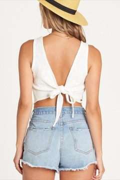 Billabong Woven Tie-Back Top - Alternate List Image