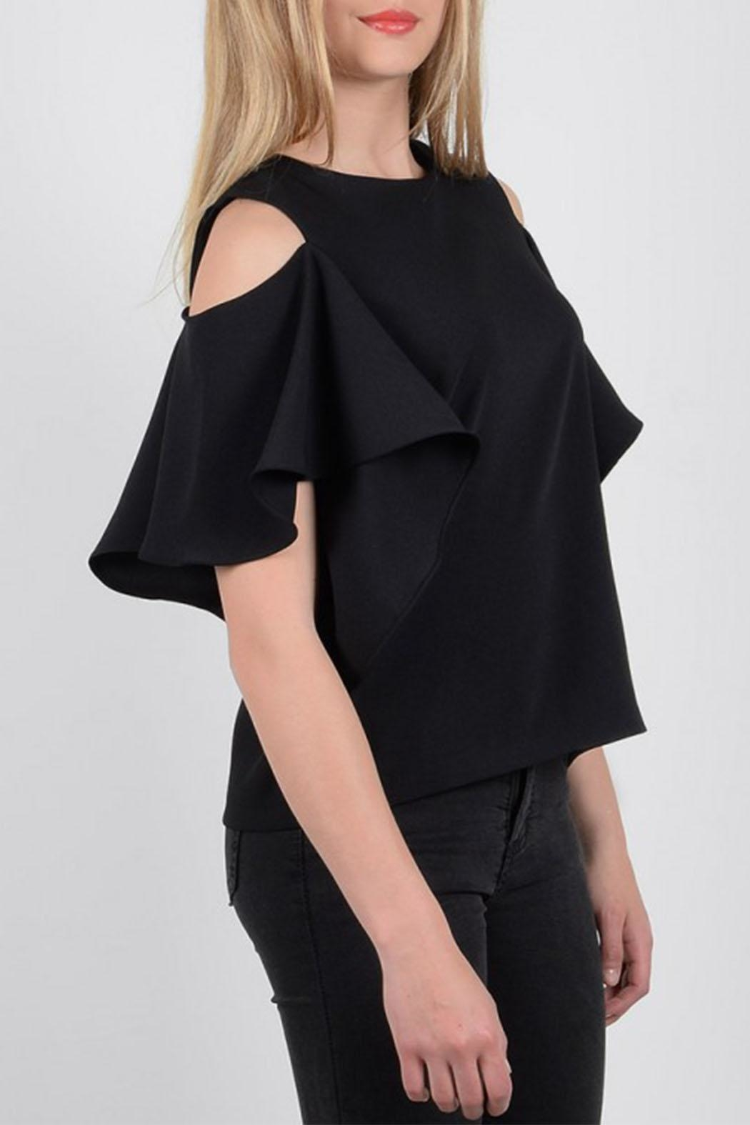 Molly Bracken Woven Top - Side Cropped Image