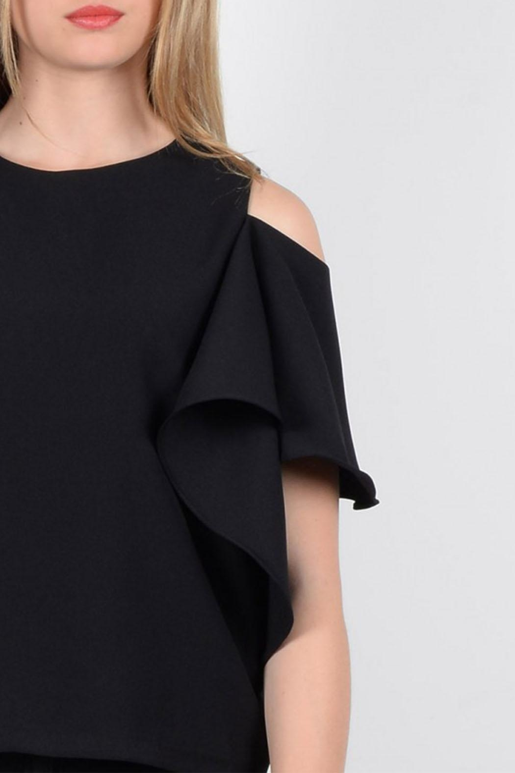 Molly Bracken Woven Top - Back Cropped Image