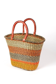 African Market Baskets Woven V-Shape Basket - Product Mini Image