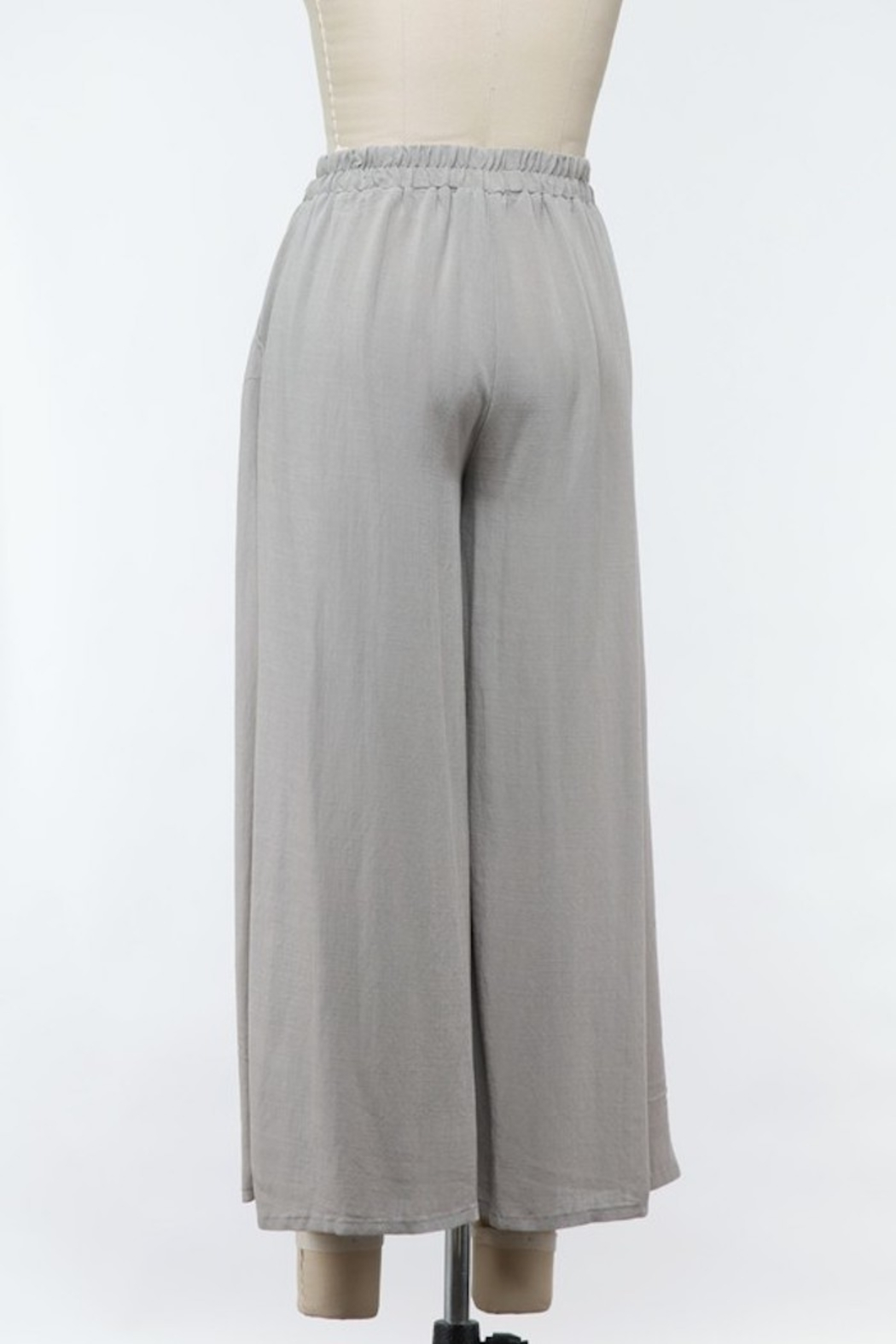 Final Touch Woven Wide-Leg Pants - Front Full Image