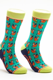 Woven pear Foxy Lady Socks - Product Mini Image