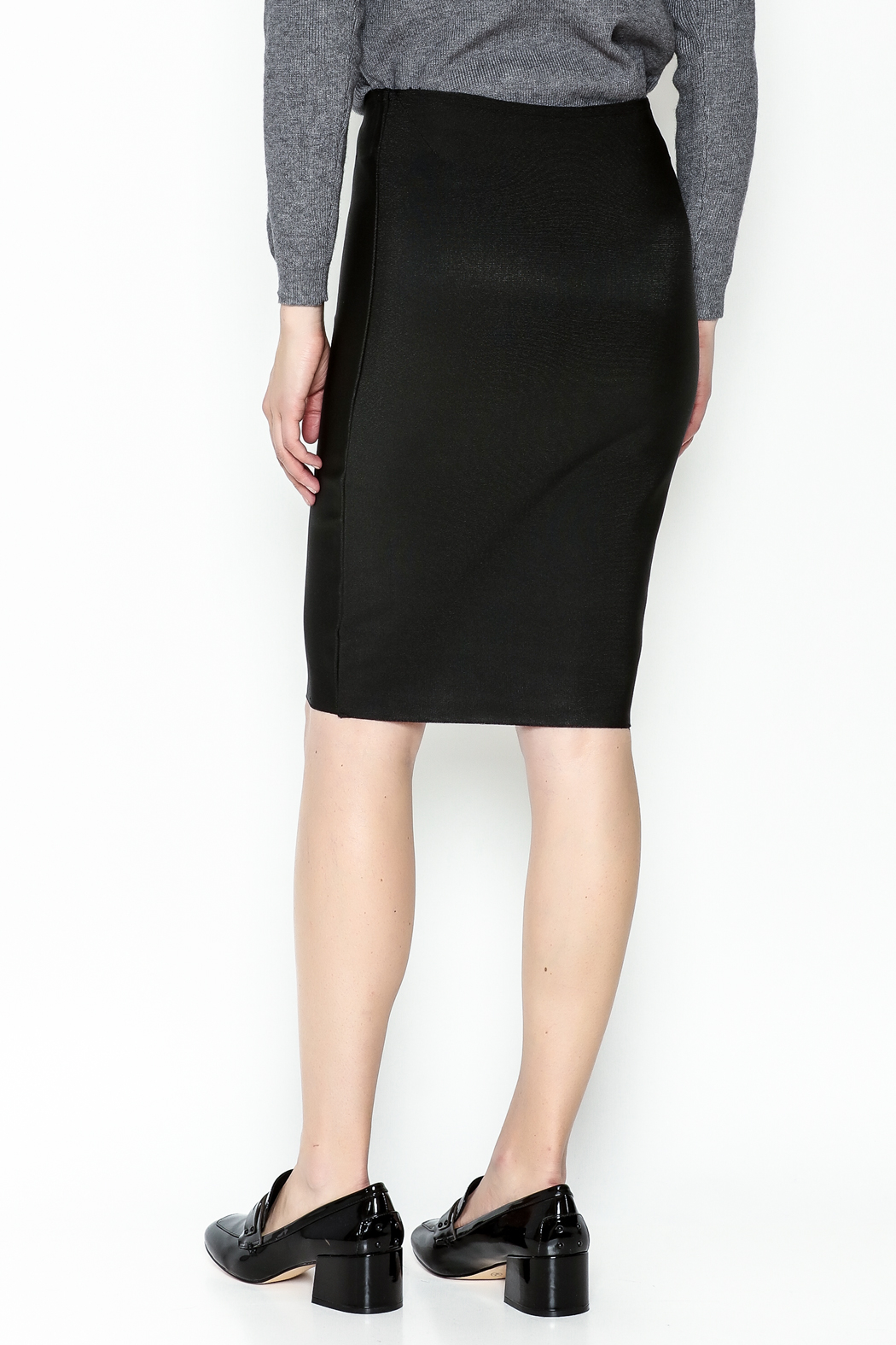 Wow Couture Bandage Skirt - Back Cropped Image
