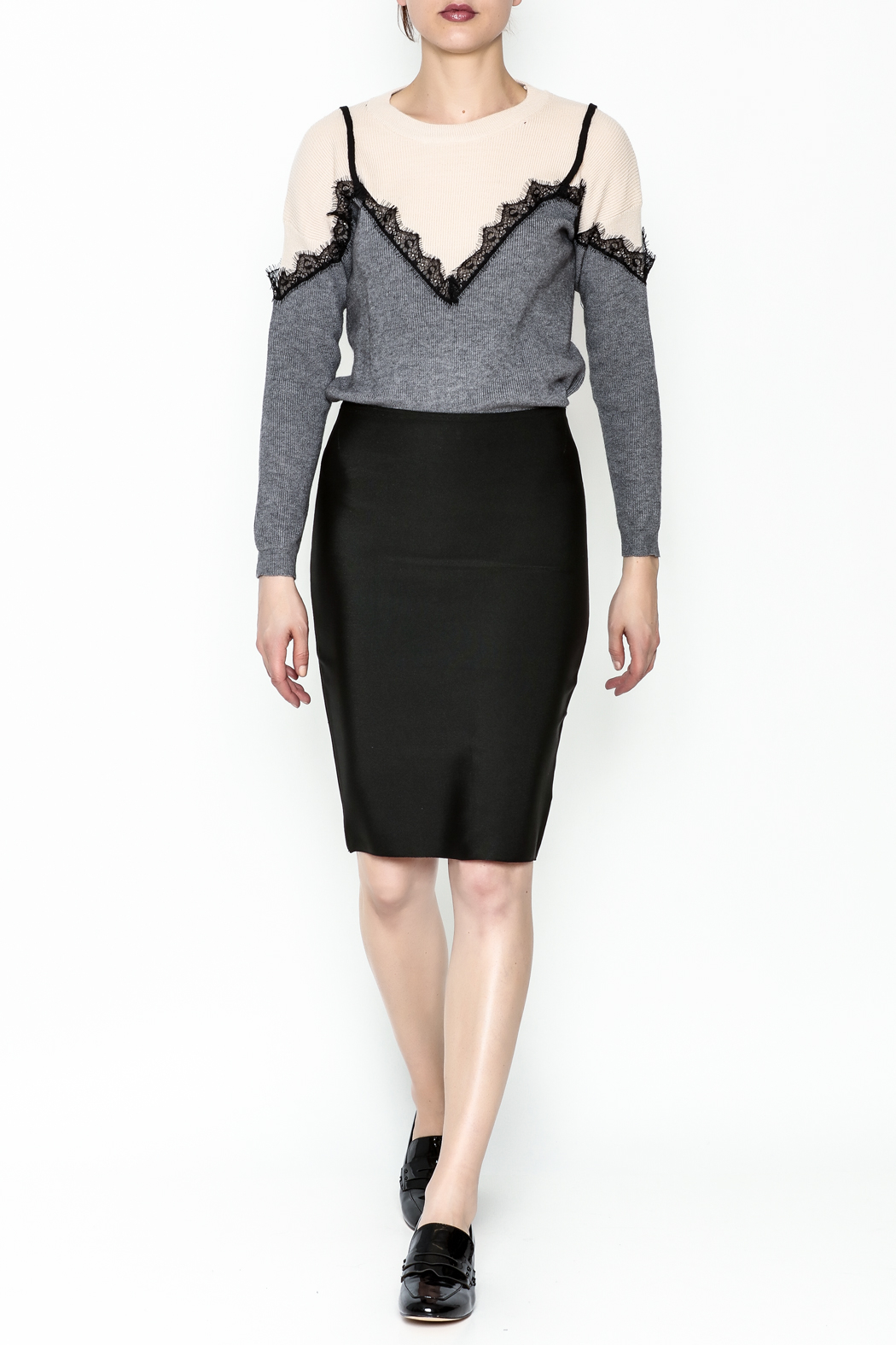 Wow Couture Bandage Skirt - Side Cropped Image