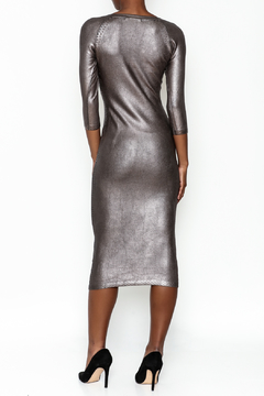 Wow Couture Gilded Bodycon Dress - Alternate List Image