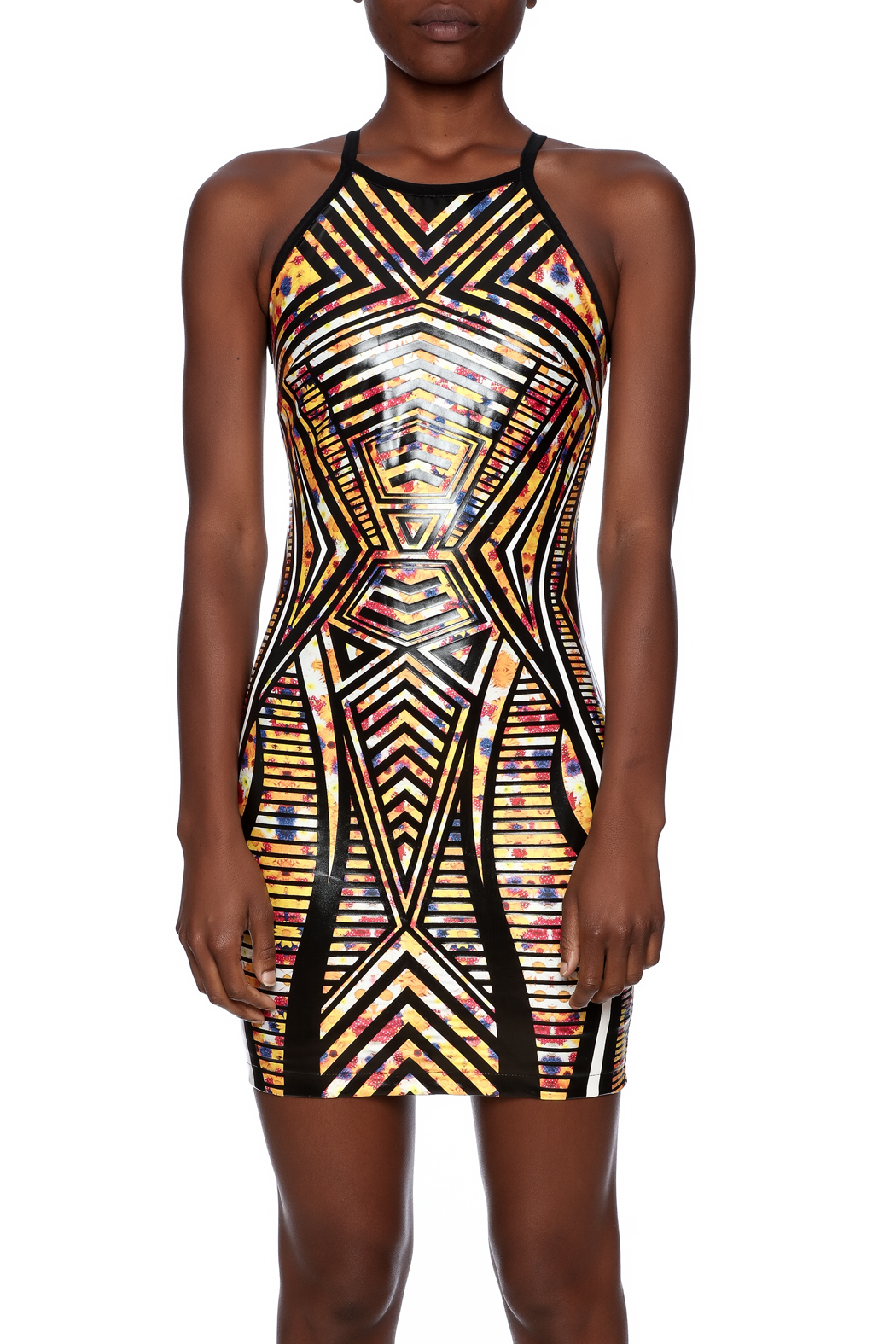 c1b3e54f158f68 Wow Couture Latex Bodycon Dress from Michigan by Lifted Boutique ...