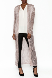 Wow Couture Metallic Threads Cardigan - Product Mini Image
